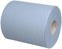 Blue Centrefeed Towel 1Ply 320m x 6 Rolls Recycled