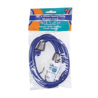 "Heavy Duty 10mm Bungee Stretch Cord 90cm (36"") - HWBC36 (WT453)"