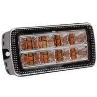 LED Directional Warning Light | Reg 10/65 | Amber