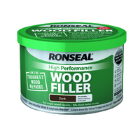 Ronseal High Performance Wood Filler 275g Dark