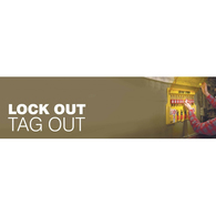 Lock Out Tag Out Safety Signs