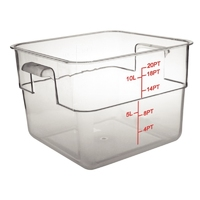 10 Litre Polycarbonate Square Container