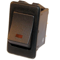 Illuminated Rocker Switch | 20*34.5mm (Amber | Green | Red Available)