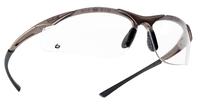 Bolle Contour Clear Anti-scratch, Anti-fog, Platinum glasses