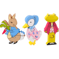 Wooden Puzzle Set - Peter Rabbit