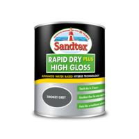 Sandtex Rapid Dry Gloss Smokey Grey 750ml