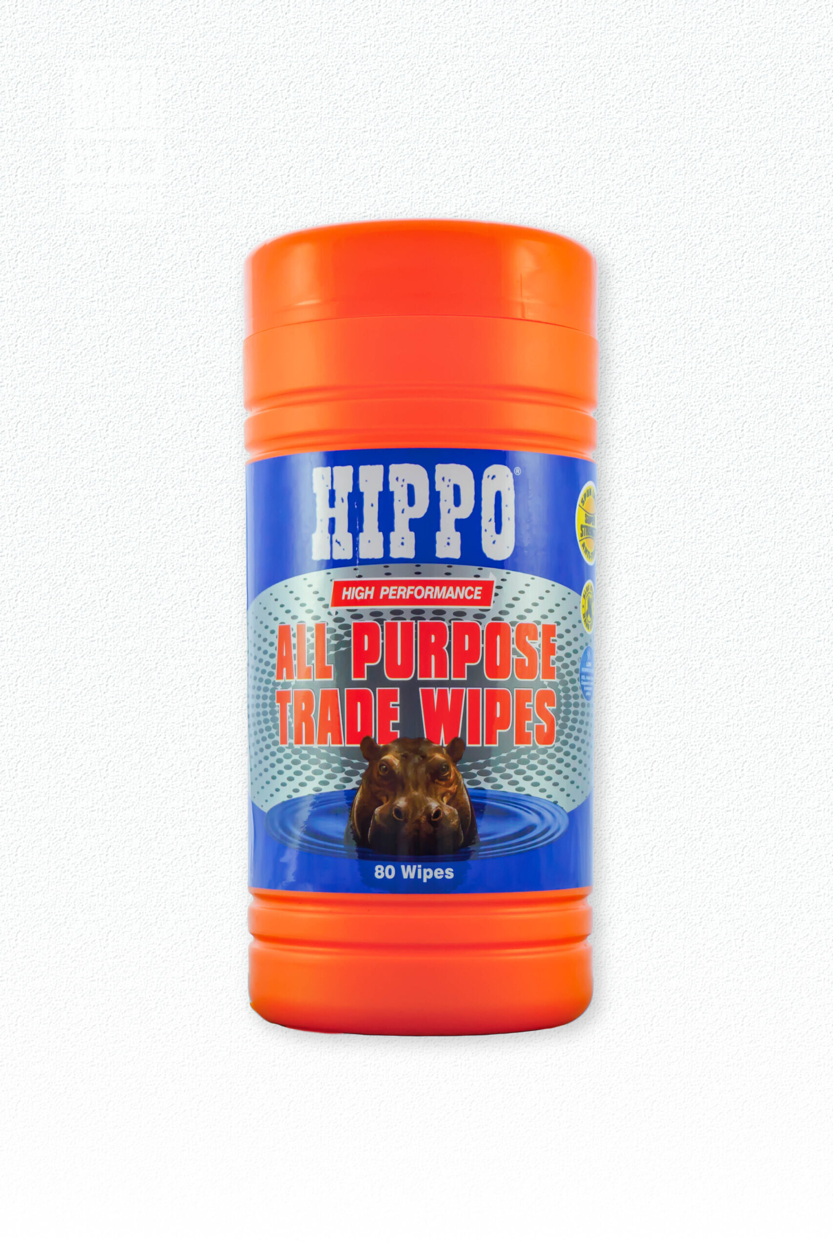 Hippo All Purpose Wipes Tub Of 80 H18710