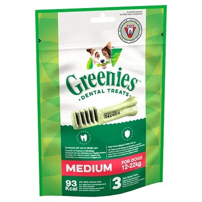 Greenies Original Dog Dental Treats Regular 6 x 85g 3 Chews