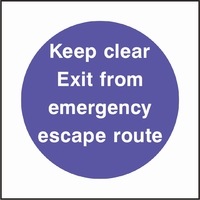 Fire Prevention Sign FPRV0004-0525