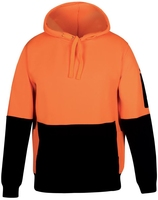 Hi Vis Day Only Pullover Polar Fleecy Hoodie 330gsm