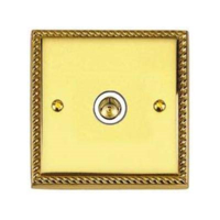 BRASS HERITAGE  SINGLE TV CO-AX OUT
