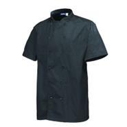Stud Jacket Black Short Sleeve Medium 101.5-106.5cm