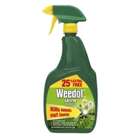 WEEDOL GUN LAWN WEEDKILLER READY TO USE 800 ML PLUS 25% EXTRA FREE