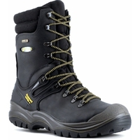 Grisport Colossus W/Proof Steel Midsole Lace Up Hi Leg Safety Boot Black