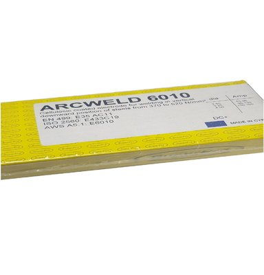 Superpro Arcweld 6010 Cellulosic Pipe Welding Electrode