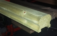 Decking Handrail Moulded & Treated 67mm x 55mm 4.8 Metre - No Infill