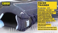 CARGO PACER SAFETY TRAINER SIZE 8