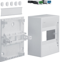 Hager 6MOD Plastic Insulated Enclosure IP30