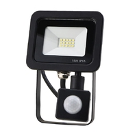10W SMD AC Floodlight PIR 4 Wire 6000K