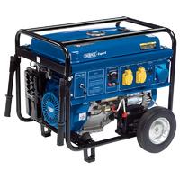 Draper 6.5KVA 6.0KW Petrol Generator Wheeled