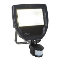 Carina LED 30W Floodlight c/w PIR cool white
