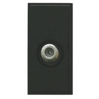 Triax Single TV F  Insert - Black (304255)