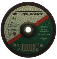 "FALCOM STONE CUTTING DISC DEPRERSSED CENTRE 9"" - 230 MM"