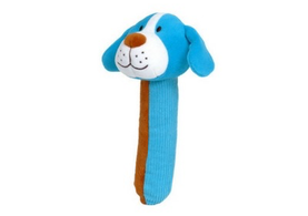 Dog Squeakaboo Baby Toy