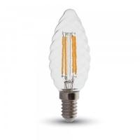 4w Candle Twist Filament E14 Bulb 2700K