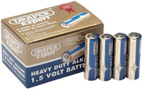 Draper AA Heavy Duty Alkaline Battery Pack of 24