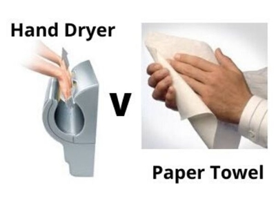 Paper Towels v Hand Dryers