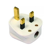 Click PA320 13A Plug Top Tough Fused White
