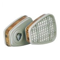 3M Organic Vapours Gas A1 Filters, Pair