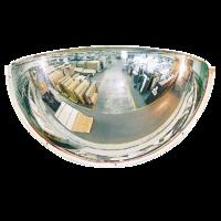PMMA quarter sphere 180 degree industrial dome mirrors