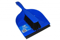 AD050 Rubber Bladed Brush & Pan Set