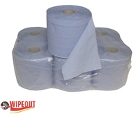 Blue Centrefeed Rolls Wholesale
