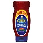 Chef Ketchup 490g +50% x12