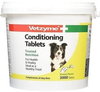 Vetzyme Dog Conditioning Tablets 3000 Tab x 1