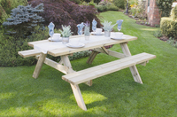 RECTANGULAR PICNIC TABLE LARGE - RPT177HD