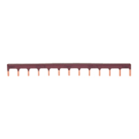 Hager KB163P 63A Single Pole Insulated Busbar 13 Mod 10mm Brown