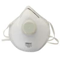 Draper FFP2 Moulded Valve Dust Mask Pack of 3