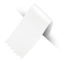 50MM SATINE RIBBON 100YD WHITE