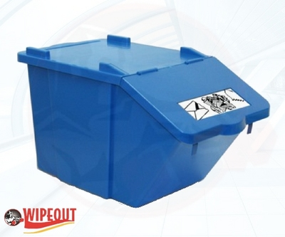 STACKABLE CONTAINER/LID 45ltr BLUE