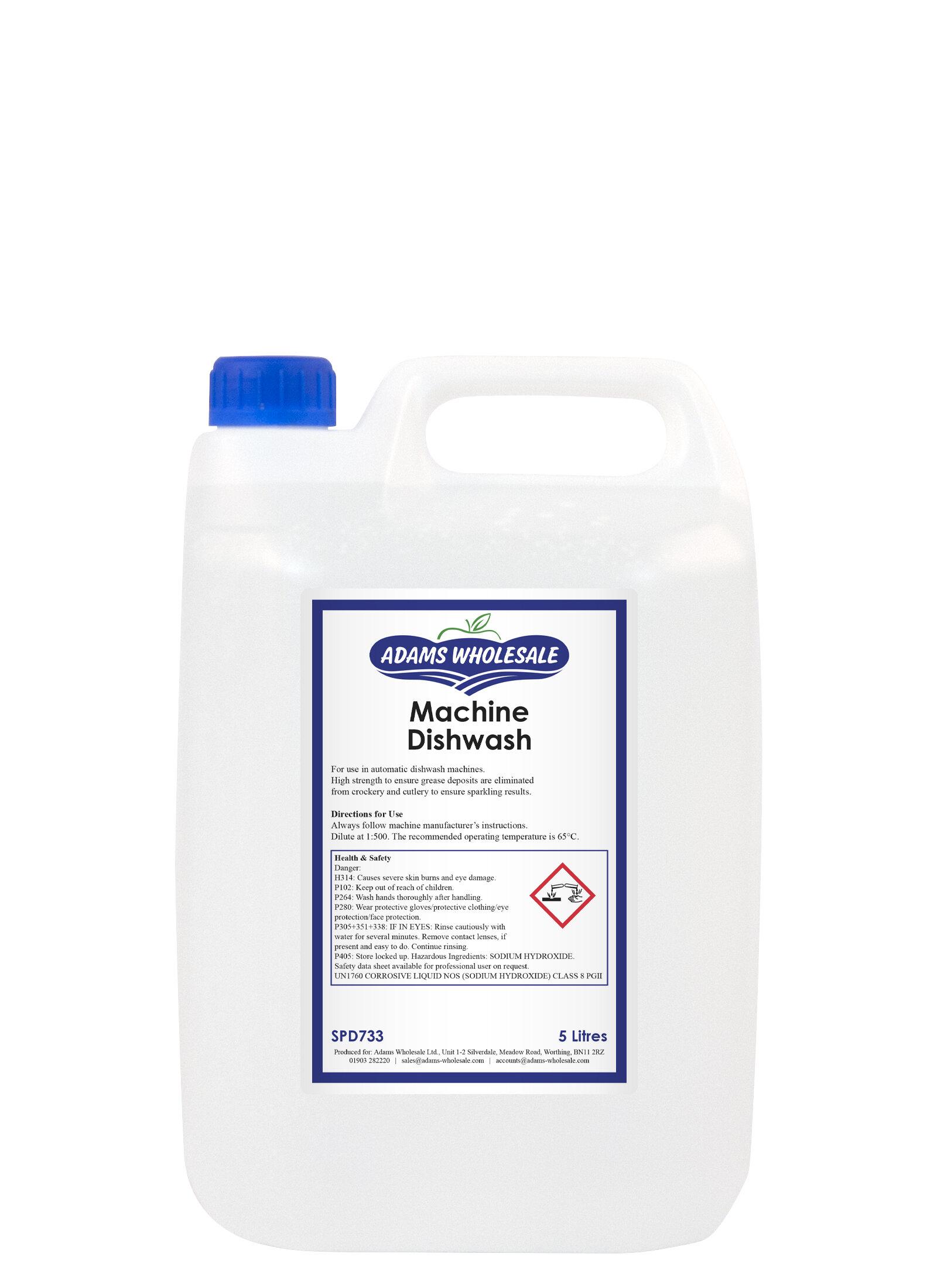 Dishwash Detergent Liquid - 5 litres