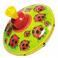 Ladybug Spinning Top