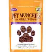 Pet Munchies Dog Training Treats Liver & Chicken 150g x 8