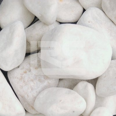 Premium Midi White Cobbles 40-90mm