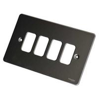 Ultimate GRID Black NIK GANG PLATE|LV0701.1009
