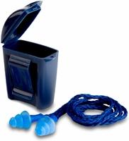 3M 1291 Blue Corded Earplug & Case - Ctn 250