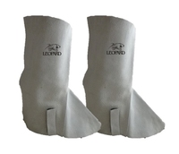 Chrome Leather Gaiters (Spats) - 14inch